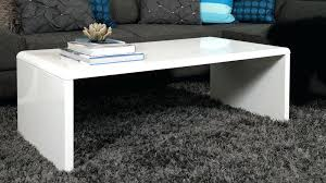 modern rectangular coffee table large white gloss coffee table delivery