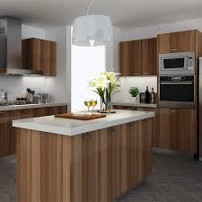 kenya high glossy wood grain melamine kitchen cabinet melamine kitchen cabinets for