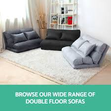 Lounge Sofa Bed Double Size Floor Recliner Folding Chaise Chair.  loungesofabeddoublesizefloorreclinerfolding