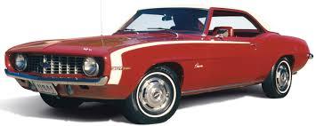 1969 Chevy Camaro Hardtop 307 V-8   Heacock Classic Insurance