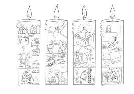 Advent Wreath Coloring Page Catholic 167867960