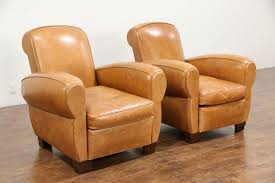 vintage leather club chairs. Large Size Of Chair Vintage Leather Club Chairs Sold Pair French Art Deco Style Black