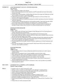 Piping Designer Resume Format Systems Designer Resume Samples Velvet Jobs