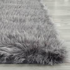 top 59 top notch round faux fur rug large sheepskin rug big fur rug area