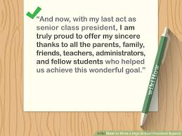 Sample School Report Enchanting How To Write A High School President Speech With Sample Speeches