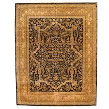 indo hand knotted vegetable dye bidjar wool rug 11 9 x 15 herat oriental rugs