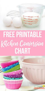 Gallon Quart Conversion Chart How Many Cups In A Quart Pint Or Gallon Video Printable