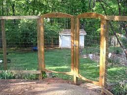 deer fence gate deer fencing