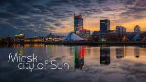 It extends from the rolling, morainic hills of the belarusian ridge in the northwest across the byarezina plain, which slopes gently to the southeast. Minsk City Of Sun Youtube