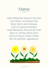 Mama 1 Muttertags Gedicht Wird Sicher Bald Ein Lied Mehr