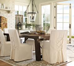 awesome dining room chair covers pottery barn gallery dining