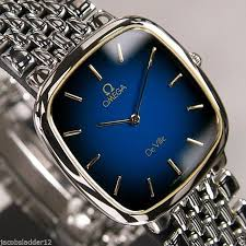 17 best ideas about used omega watches omega omega de ville quartz blue dial swiss made antique vintage rare used men s watch omega