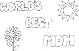 Small Picture Love U Mom Coloring Page For Mother Day Crayon Action Coloring