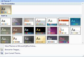 Microsoft Powerpoint Themes Design Slides With Powerpoint Themes Dummies