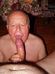 Mature gay grandpa blowjobs