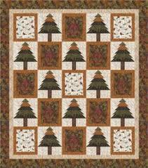 Pioneer Spirit Quilt Kit by Maywood Studio | Quilts | Pinterest & Cabin-Upstate Quilt · Tree QuiltPine ... Adamdwight.com