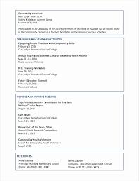 Correct Pronunciation Of Resume Resume Work Template