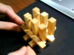 Wooden Game Cubes Stunning Mind Game 32d Cube 32 Pieces YouTube