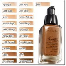 Avon Foundation Colour Chart Avon Invisible Light Illuminating Makeup Base Saubhaya Makeup