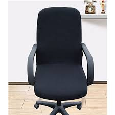 office chair covers. Fine Covers 1 ShihualineTM Office Slipcovers Cloth Chair Pads Removable Cover  Stretch Cushion Resilient Fabric Black Intended Covers