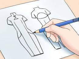 drawings fashion designs the simplest way to draw fashion sketches wikihow