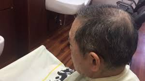 60代の薄毛に最適なヘアスタイル 大東市 Heir Saron Kurisu Youtube