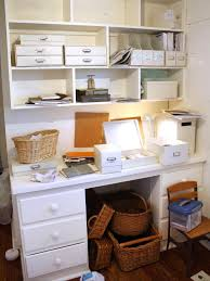 home office in a cupboard. Home Office : Organization Ideas In A Cupboard