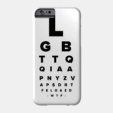Eye Chart On Phone Eye Chart