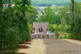 the entrance of p allen smith s garden of roses