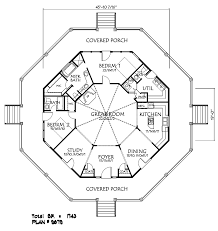 Hexagon House Floor Plan Design Plan W72577DA Neoclassical Hexagon House Plans