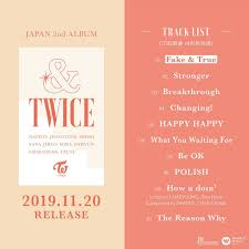 Oricon Music Chart Twices New Japanese Album Twice Tops Oricon Daily