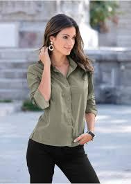 <b>Женские</b> блузки с длинным <b>рукавом</b> на bonprix!