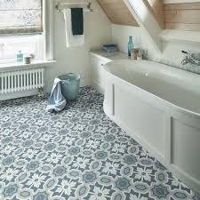 bathroom vinyl flooring blue green fl vintage country cottage
