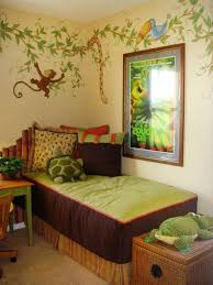 jungle theme wall decor bedroom mesmerizing home designing inspiration kids  room decorating ideas beautiful . jungle theme wall decor ...