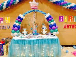 Frozen disney diy cake table