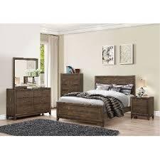 black piece full bedroom set lorenzi