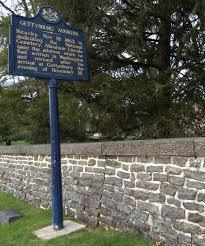 gettysburg address ordinary philosophy gettysburg address historical marker at gettysburg national cemetery