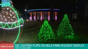 Ge Lighting Layoffs Cleveland Watch Ge Lighting Flips On Nela Park Holiday Display Youtube