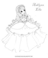 Kara Realm Ever After High Coloring Pages Ever After High