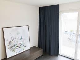 Blackout Vorhang Helsinki Navyblau Schlafzimmer Komplett Abdunkeln