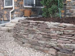 Small Picture Moss Rock Wall with Slab Stone Stairs installed by Glacier View