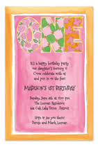 birthday invitations samples invitation wording samples by invitationconsultants com first
