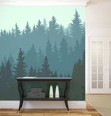 Walls Design Ideas Wall Mural Accent Diy