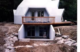 Basement under 45 Dome House