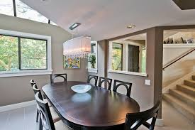 gorgeous inspiration oval chandeliers for dining room table contemporary with