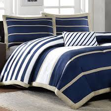 mizone pipeline twin xl comforter set blue