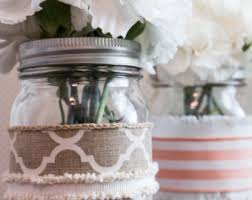 Decorating With Mason Jars And Burlap Burlap sleeves Etsy 79