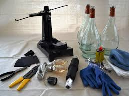 Wine Bottle Lamp Diy Upcycle Wine Bottle Into Pendant Light Fixtures How Tos Diy