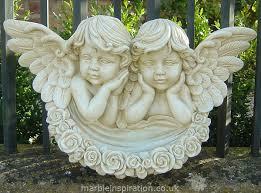 angel bowl garden ornament