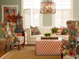 Tropical Living Room Decor Colorful Patterns And Tropical Accents Living Room Decor 20544